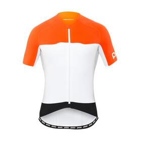 POC AVIP Kortärmad cykeltröja Herr orange/vit